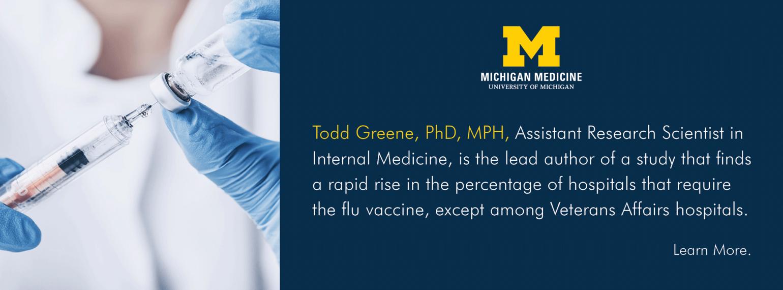 U-M Hospital Medicine Division, Dr. Todd Greene