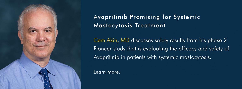 Avapritinib Promising for Systemic Mastocytosis Treatment