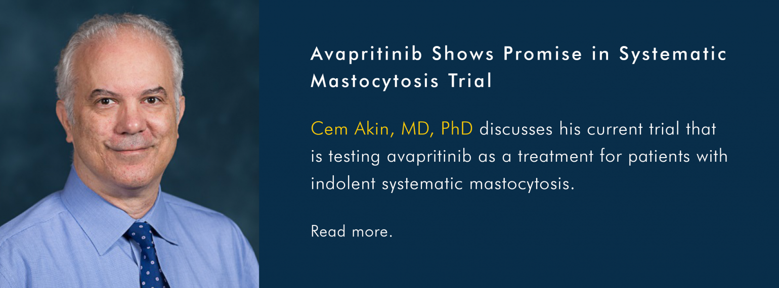 Avapritinib Shows Promise in Systematic Mastocytosis Trial