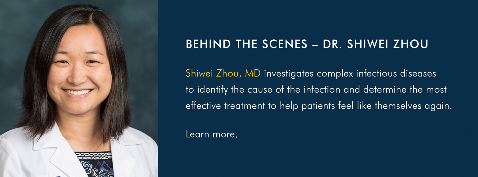 Behind the Scenes with Dr. Shiwei Zhou