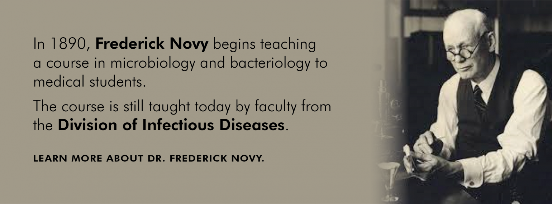 U-M Infectious Diseases Frederick Novy