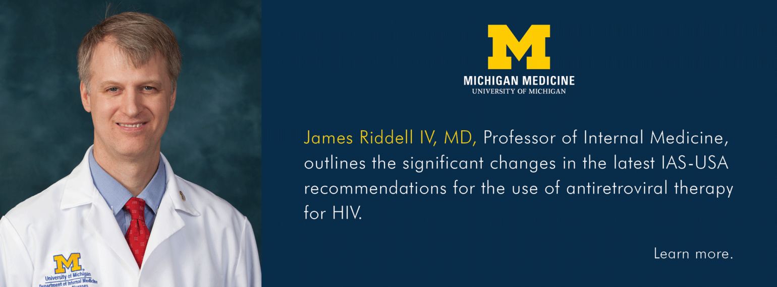 U-M Infectious Diseases Division, Dr. James Riddell