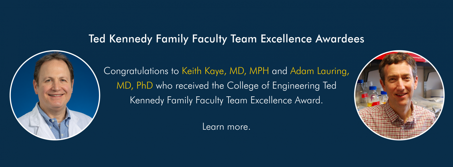 Ted Kennedy Family Faculty Team Excellence Awardees