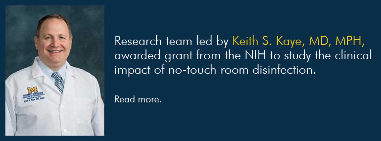 U-M General Medicine Division, Dr. Keith Kaye