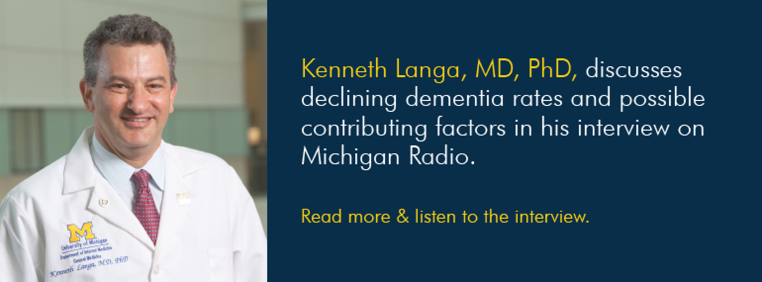 U-M Division of General Medicine, Dr. Kenneth Langa