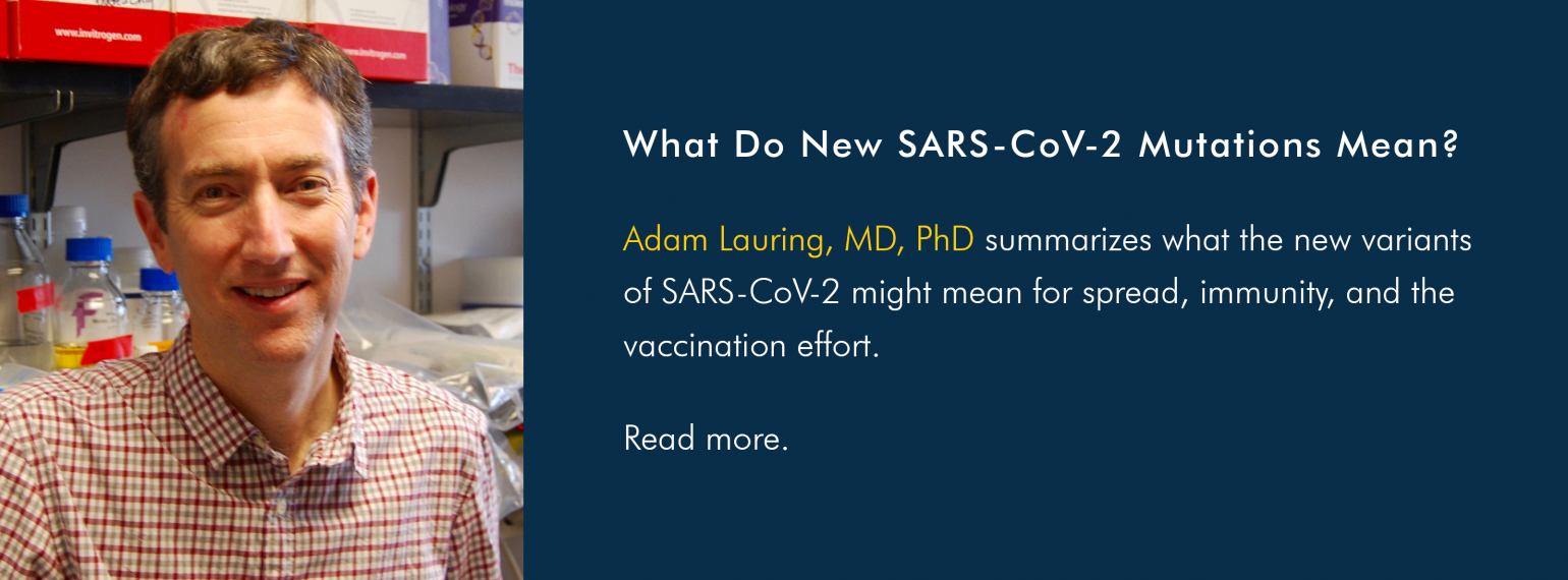 What Do New SARS-CoV-2 Mutations Mean?
