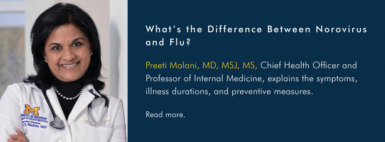 U-M Infectious Diseases Division, Dr. Preeti Malani