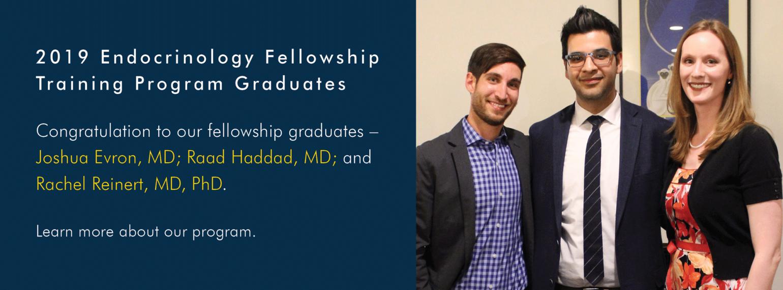 U-M 2019 Endocrinology Fellowship Training Program Graduates