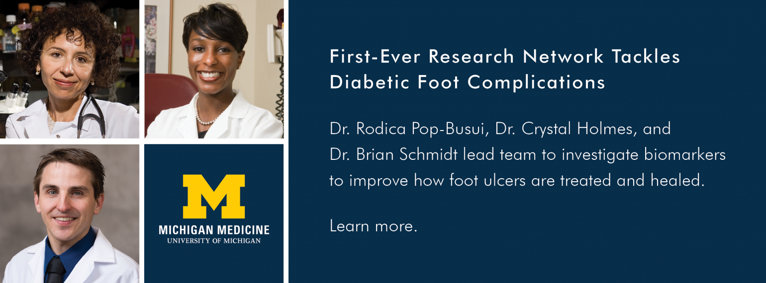 First-Ever Research Network Tackles Diabetic Foot Complications