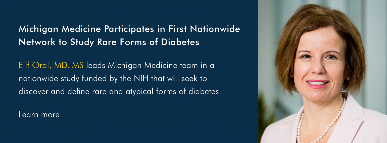 Michigan Medicine Participates in First Nationwide Network to Study Rare Forms of Diabetes