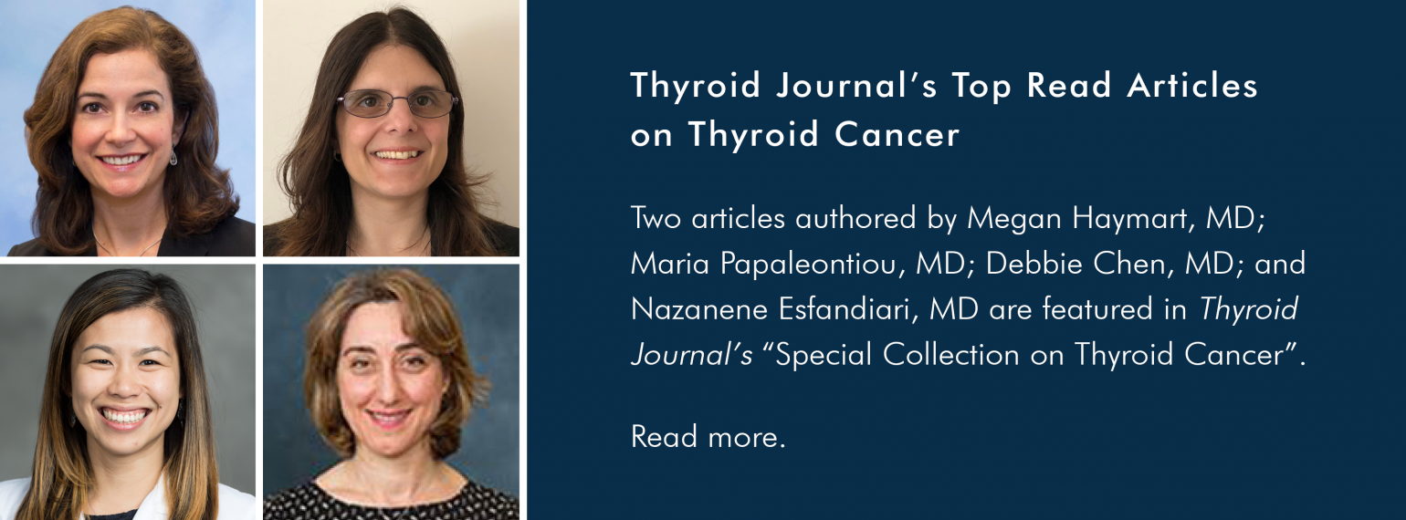 Thyroid Journal's Top Read Articles on Thyroid Cancer