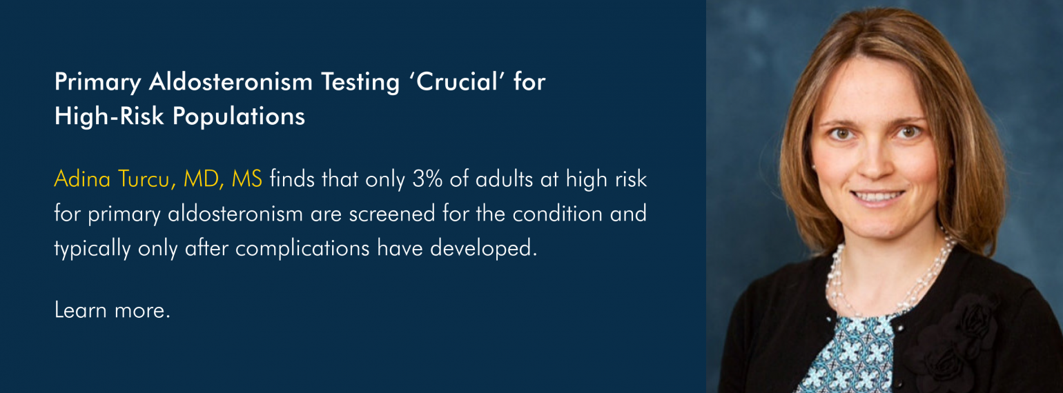 Primary Aldosteronism Testing 'Crucial' for High-Risk Populations