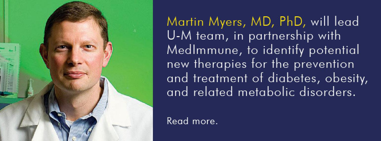 U-M MEND Divsion, Dr. Martin Myers