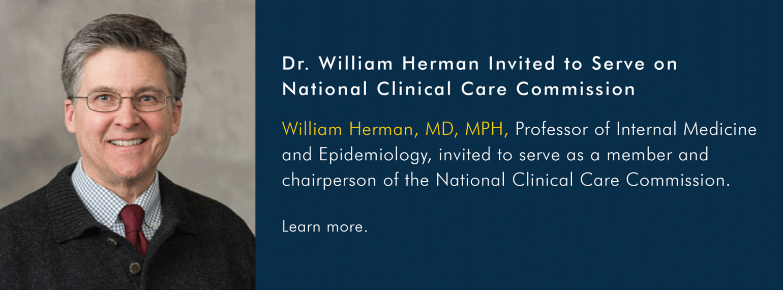 U-M MEND Division, Dr. William Herman