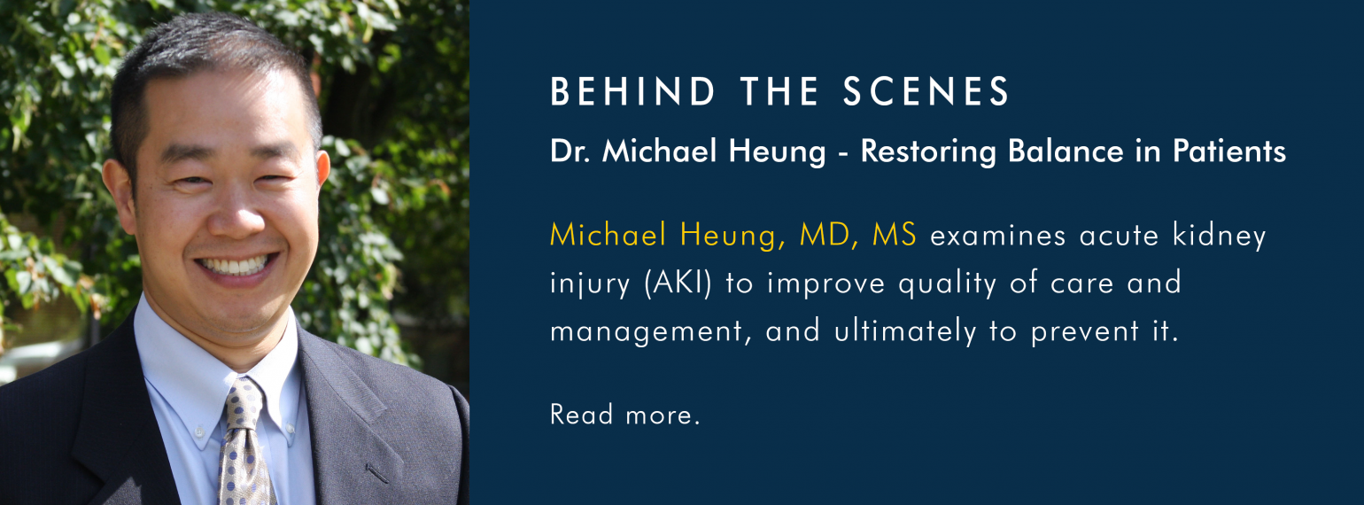 Behind the Scenes with Dr. Michael Heung