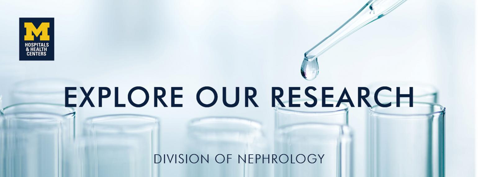 U-M Division of Nephrology Research