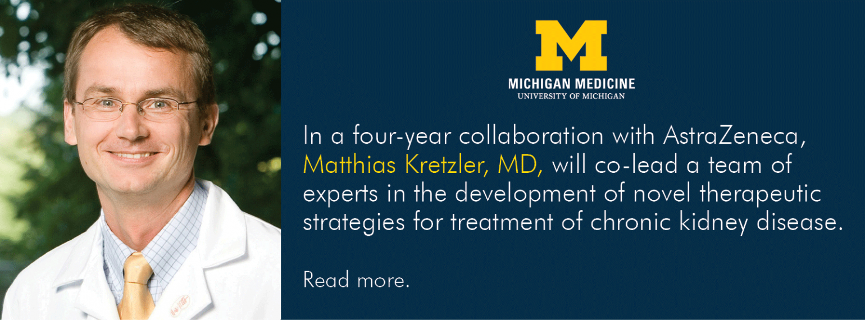 U-M Division of Nephrology, Dr. Matthias Kretzler