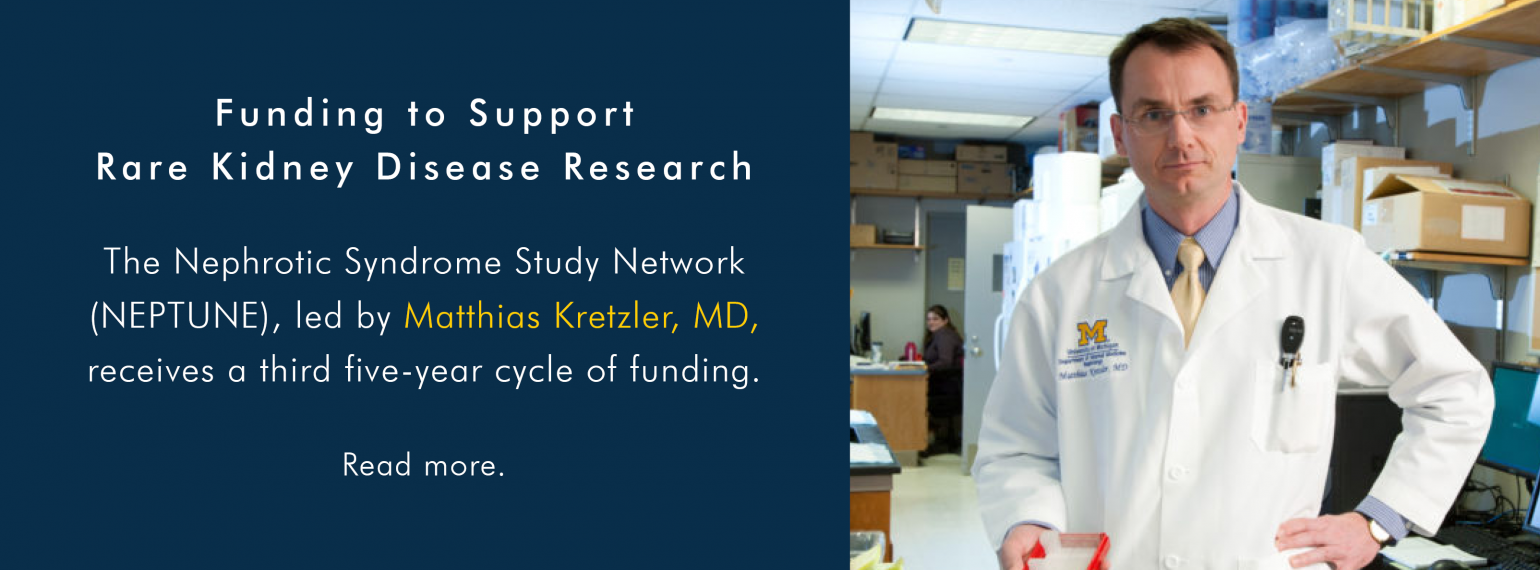 Funding to Support Rare Kidney Disease Research