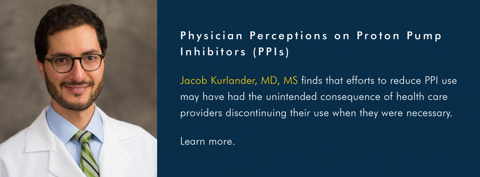Physician Perceptions on Proton Pump Inhibitors (PPIs)