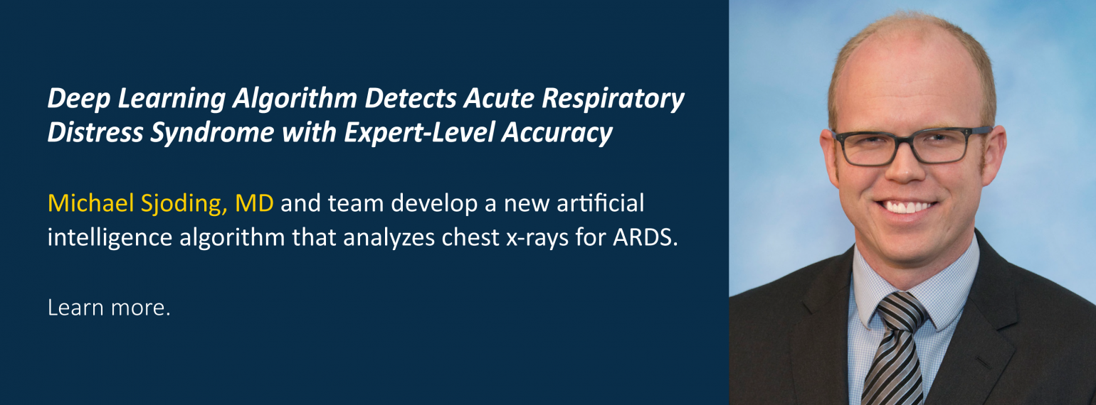 Deep Learning Algorithm Detects Acute Respiratory Distress Syndrome with Expert-Level Accuracy