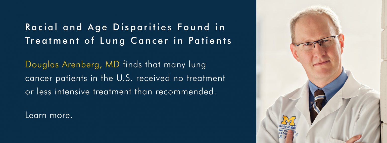 Racial and Age Disparities Found in Treatment of Lung Cancer in Patients