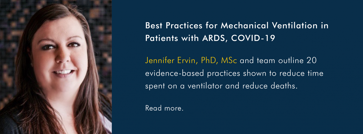Best Practices for Mechanical Ventilation in Patients with ARDS, COVID-19Best Practices for Mechanical Ventilation in Patients with ARDS, COVID-19