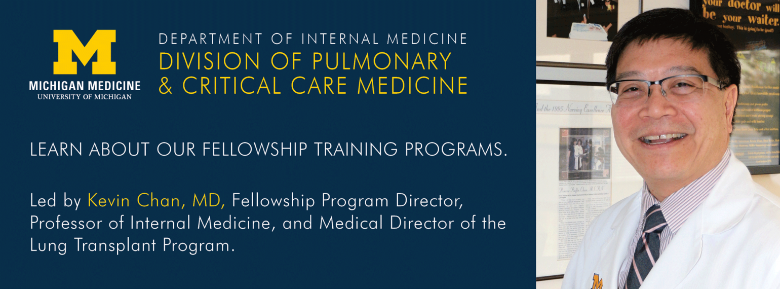 U-M Pulmonary & Critical Care Medicine Division Fellowship Training Programs