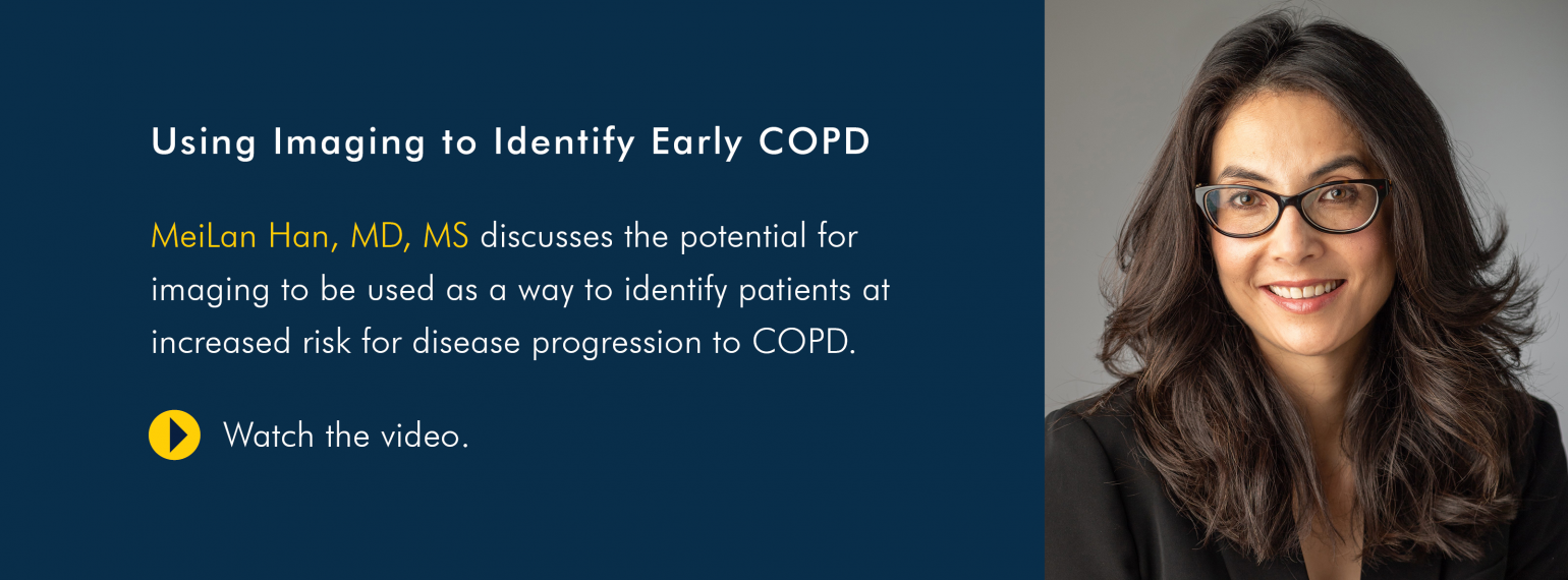 Using Imaging to Identify Early COPD