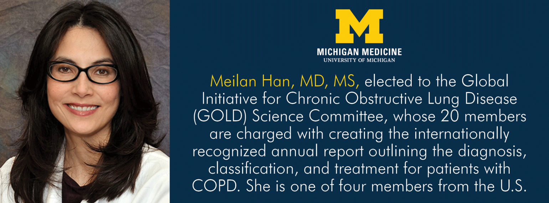 U-M Pulmonary & Critical Medicine, Dr. Meilan Han