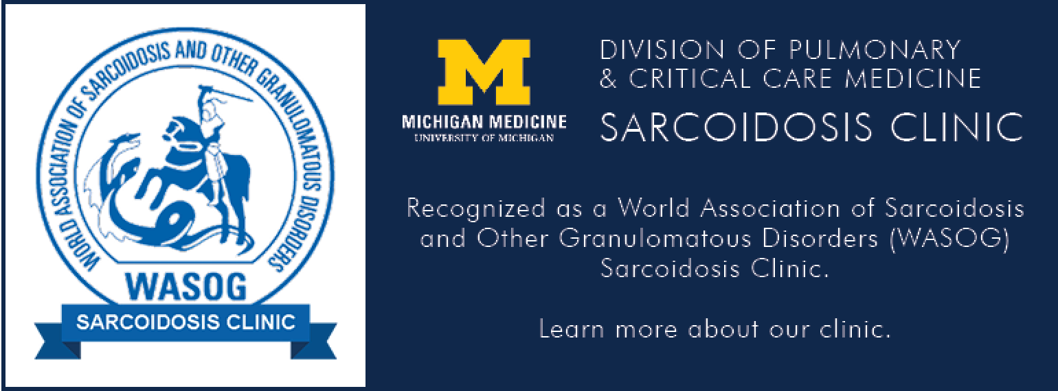 U-M Sarcoidosis Clinic - World Association for Sarcoidosis and Other Granulomatous Disorders
