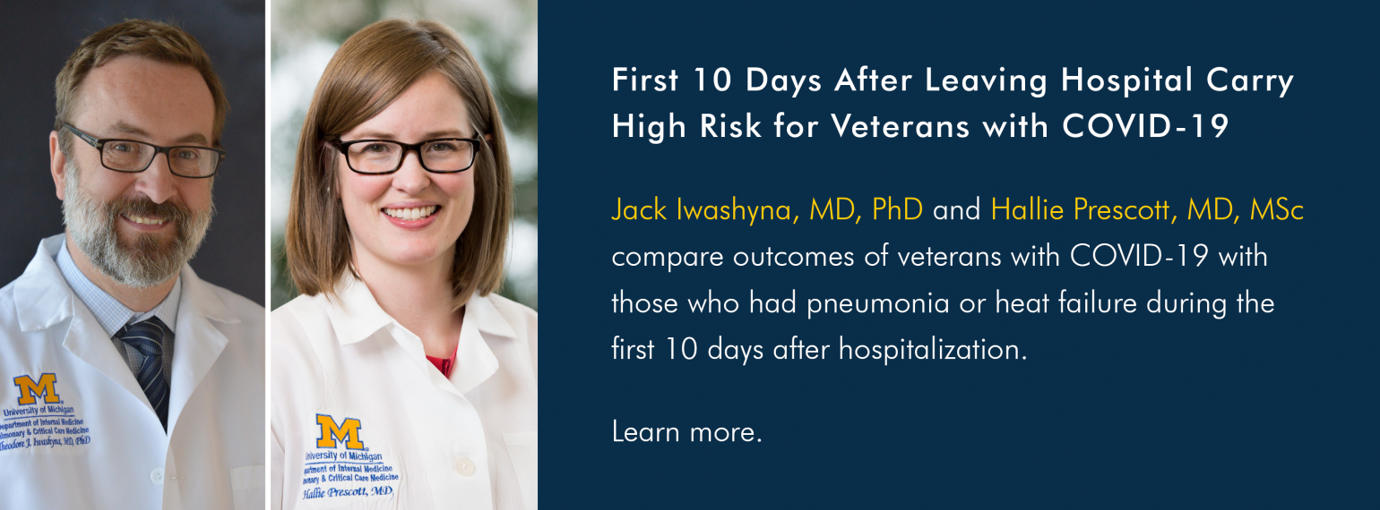 First 10 Days After Leaving Hospital Carry High Risk for Veterans with COVID-19