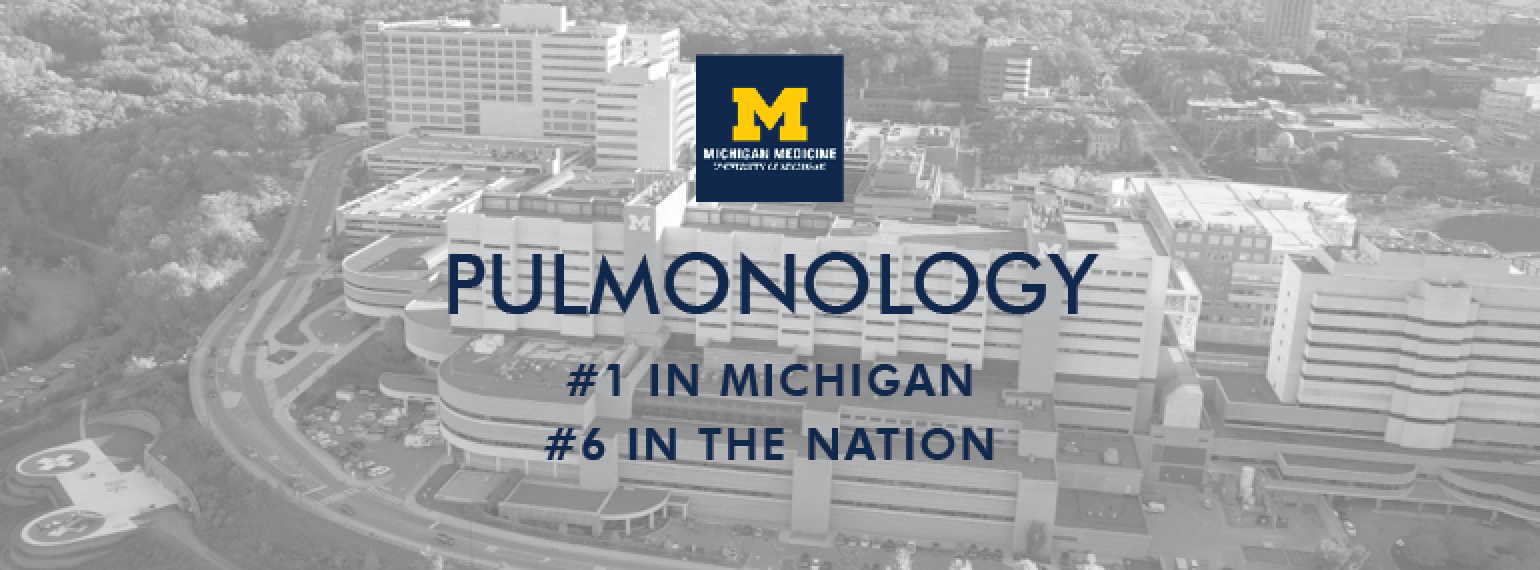 U-M Pulmonary & Critical Care Medicine Division, Regional & National Ratings