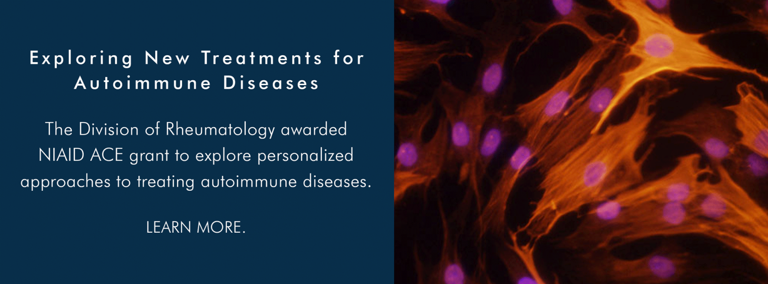 U-M Rheumatology Division Exploring New Treatments for Autoimmune Diseases