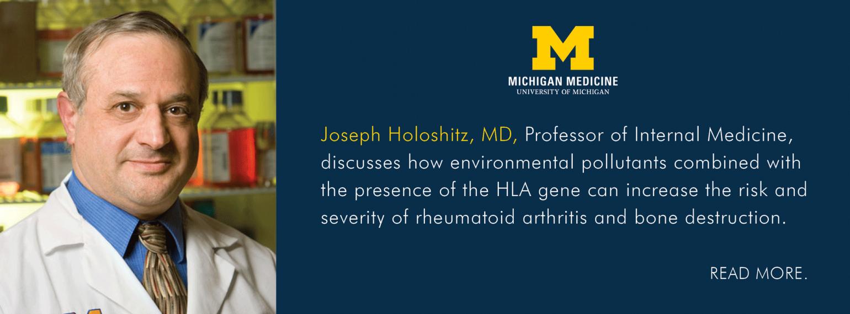 U-M Rheumatology Division, Dr. Joseph Holoshitz
