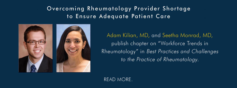 U-M Rheumatology Division, Dr. Kilian & Dr. Monrad
