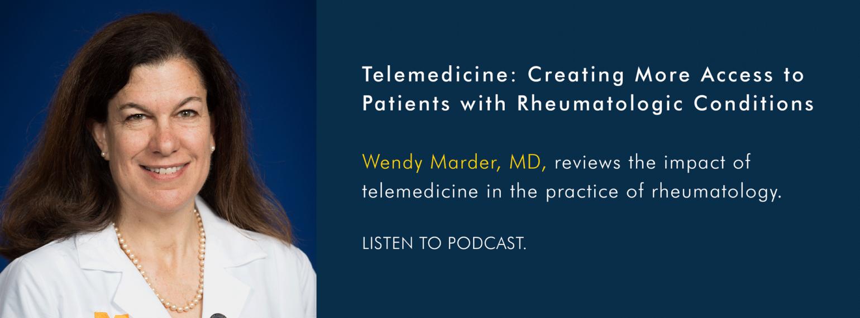 U-M Rheumatology Division, Dr. Wendy Marder