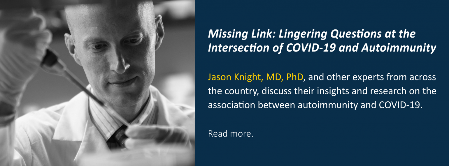 Missing Link: Lingering Questions at the Intersection of COVID-19 and Autoimmunity