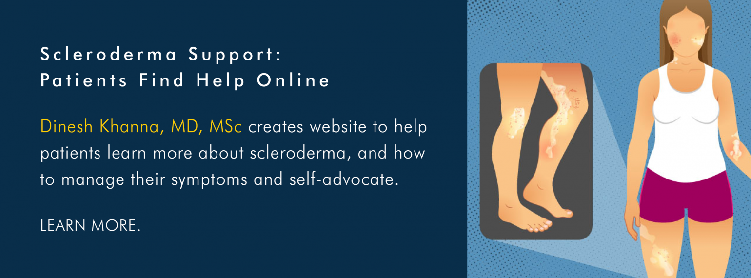 Self-Manage Scleroderma Website: Online Support for Patients