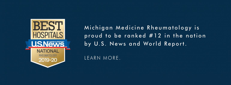 Rheumatology | Internal Medicine | Michigan Medicine