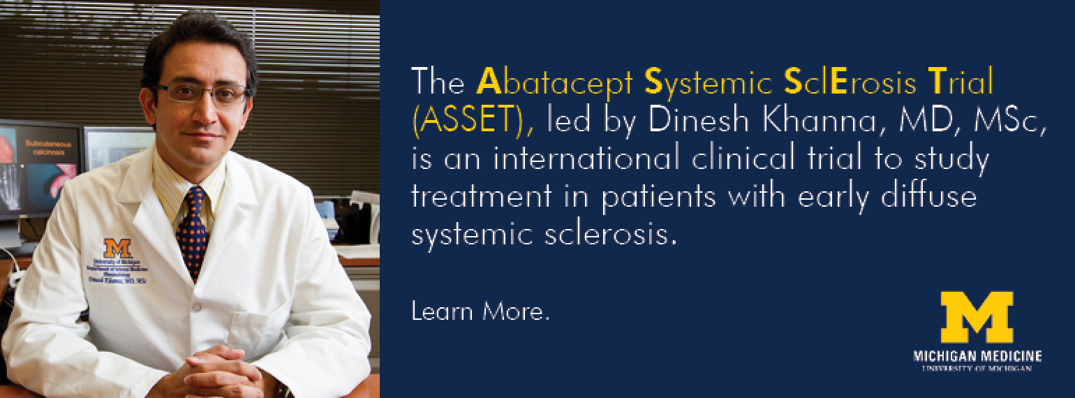 U-M Scleroderma Program ASSET Study