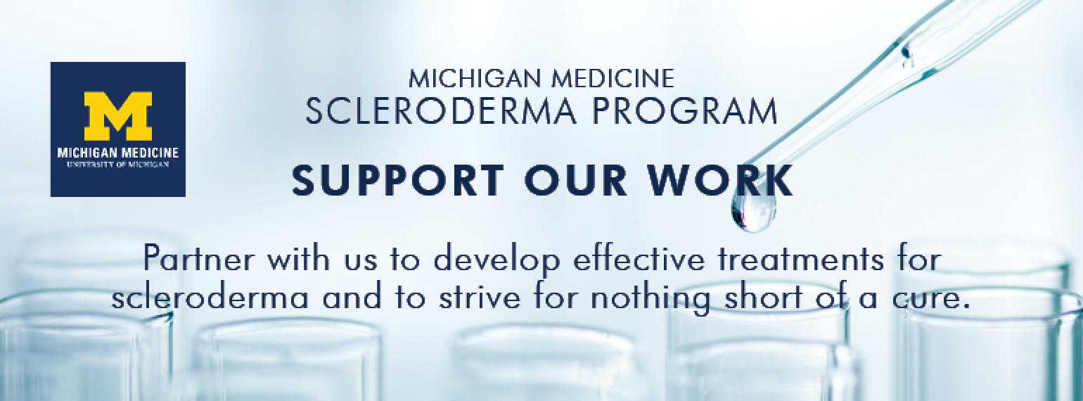 U-M Scleroderma Program, Support Our Work