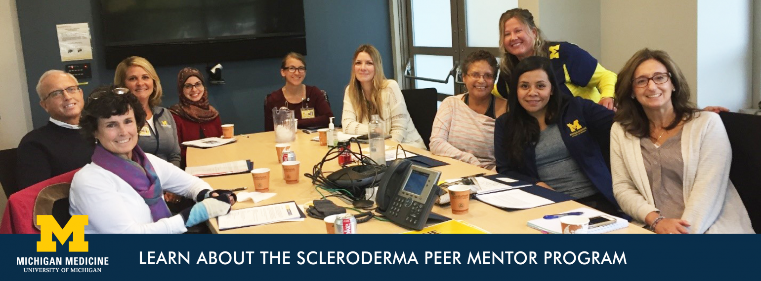 Learn about the Scleroderma Peer Mentor Program