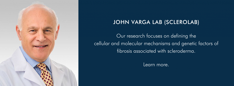 John Varga Lab (ScleroLab) - Research