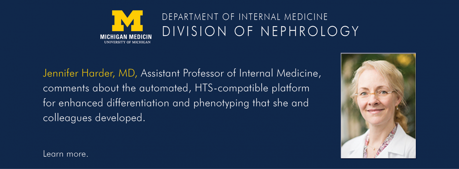 U-M Division of Nephrology, Dr. Jennifer Harder