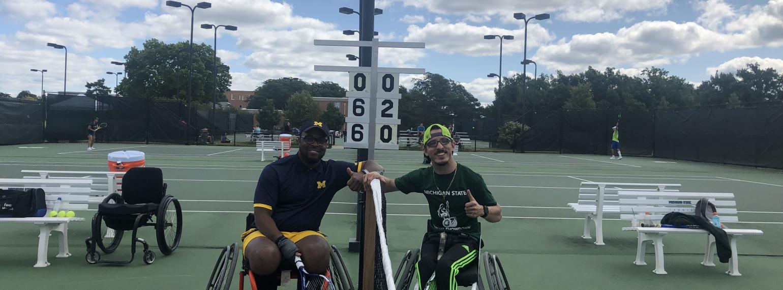 MSU wheelchair tennis