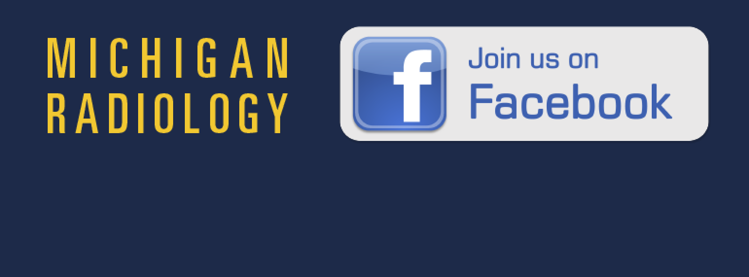 Facebook: Michigan Radiology