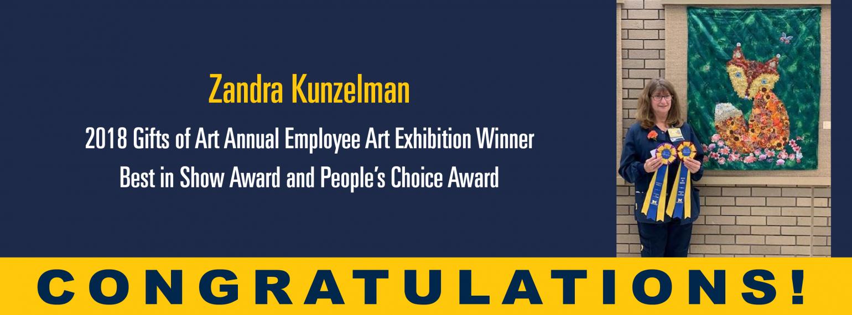 Zandra Kunzelman Award