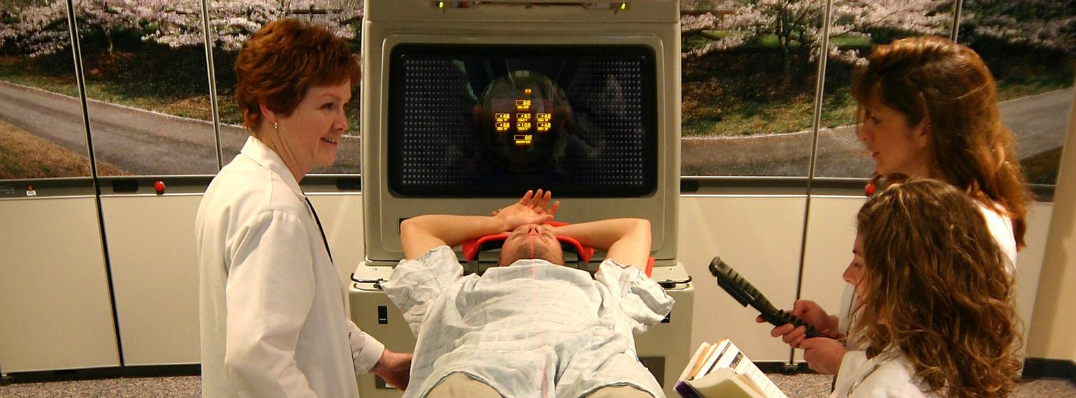 Radiation therapy program