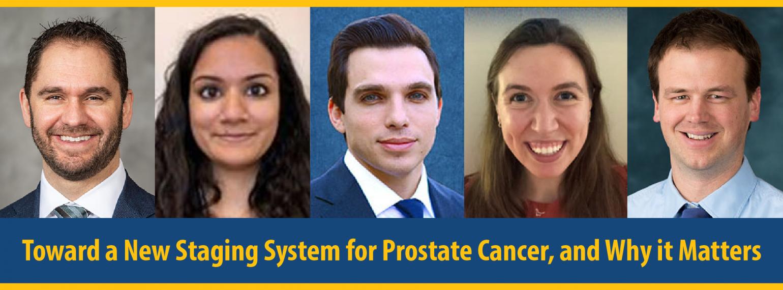 Prostate cancer staging system