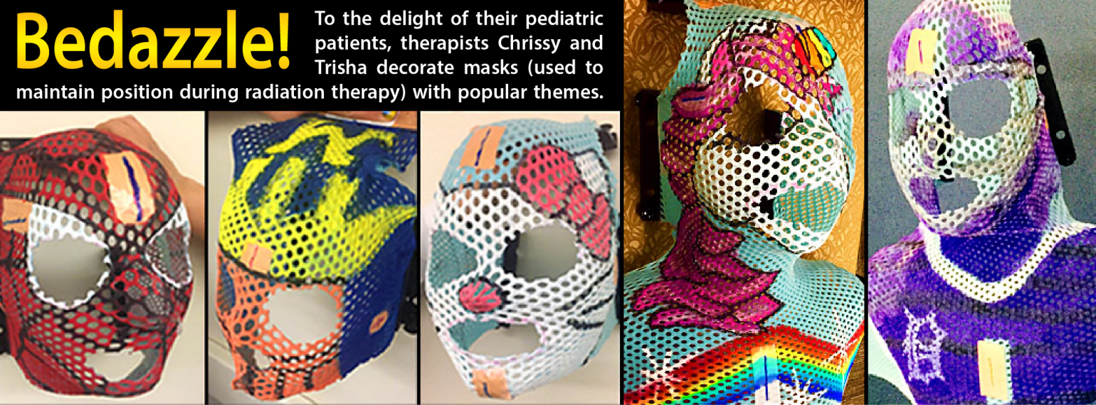 Bedazzled masks